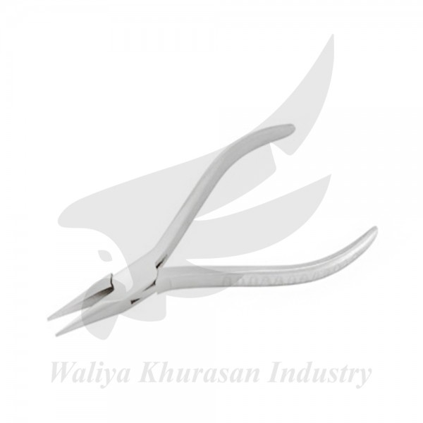 WATCHMAKING CHAIN NOSE PLIERS GROOVE HANDLE 115MM