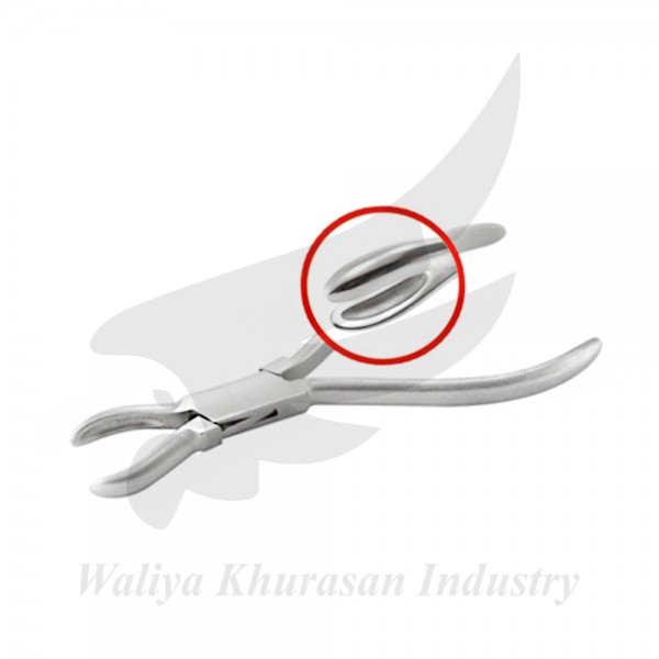 RING HOLDING PLIERS 140MM PLAIN HANDLE