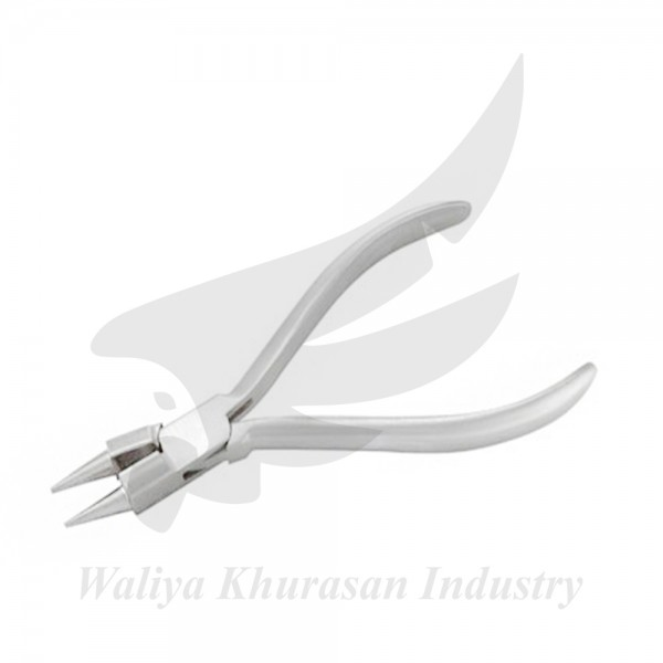 ROUND ROSARY PLIERS PLAIN HANDLE 130MM
