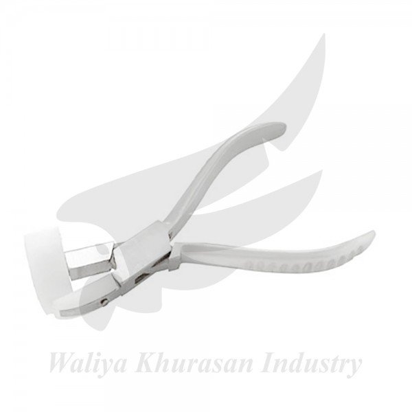 TEMPLE END AND EYE-WIRE PLIERS