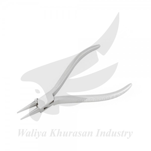 ROUND NOSE PLIERS 115MM GROOVE HANDLE