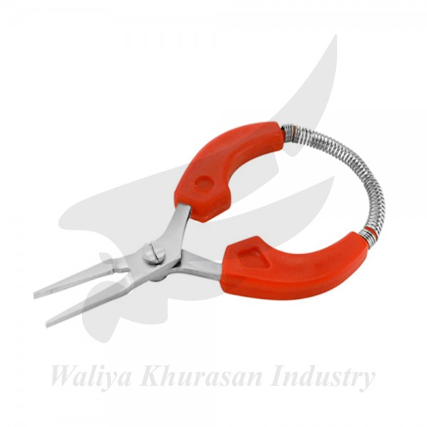 EASY HOLDING FLAT NOSE PLIERS 115MM