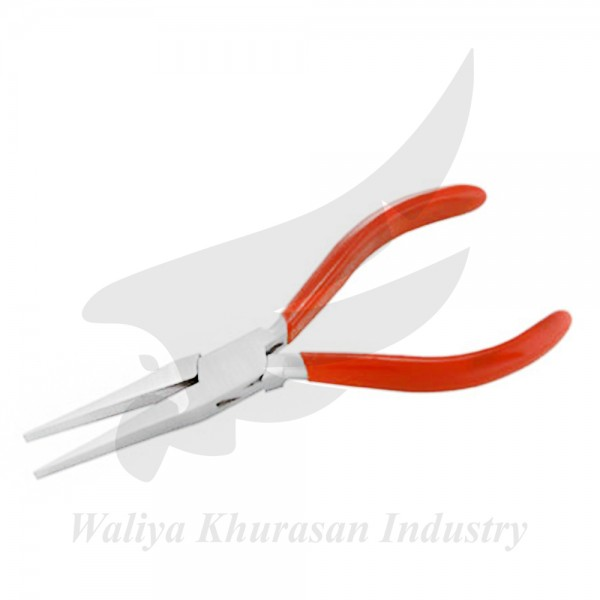LONG FLAT NOSE PLIERS 165MM 4MM JAW