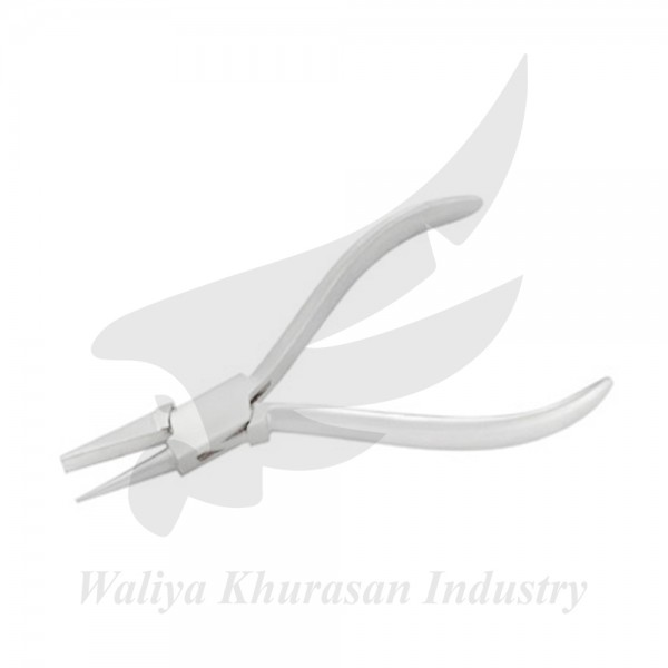 WATCHMAKING FLAT AND ROUND PLIERS 130MM