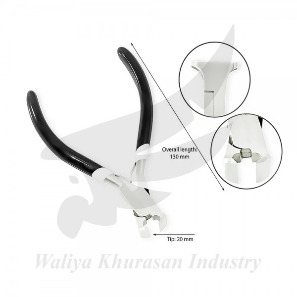 SET OF 4 DIAGONAL FLUSH CUTTER END CUTTER SLIMLINE CUTTER AND LONG CHAIN NOSE PLIERS JEWELLERY MAKING TOOLS