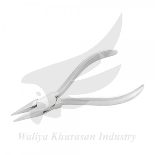 WATCH MAKING CHAIN NOSE PLIERS PLAIN HANDLE 130MM