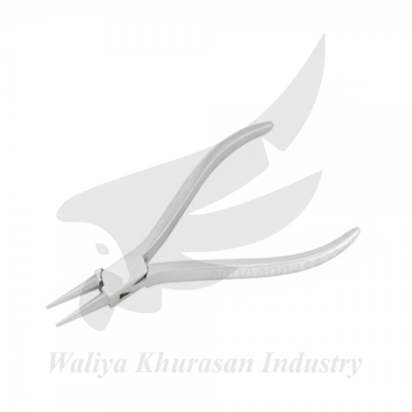 WATCH MAKING ROUND NOSE PLIERS 115MM GROOVE HANDLE