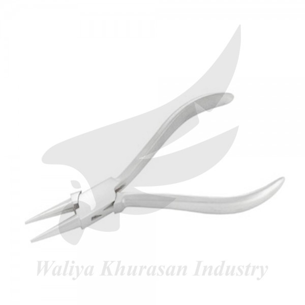 WATCH MAKING ROUND NOSE PLIERS PLAIN HANDLE 130MM