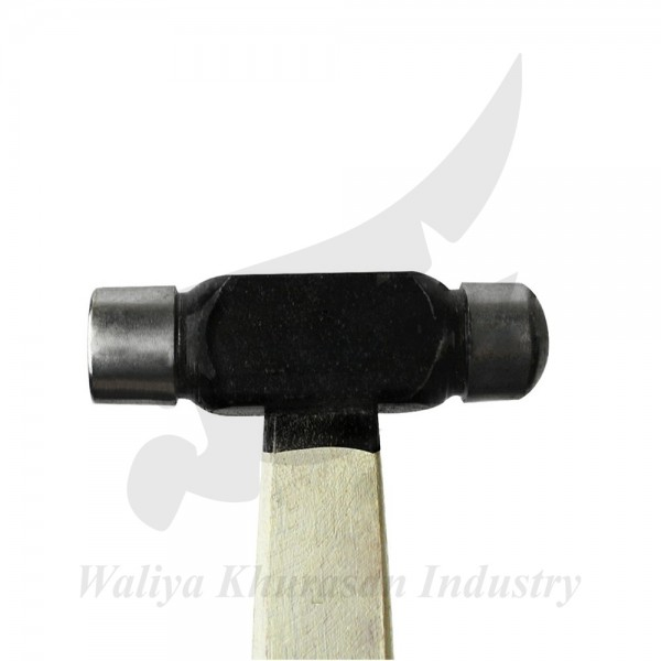 BALL PEIN HAMMER WITH DOUBLE-SIDED DOMED HEAD - 2 OZ