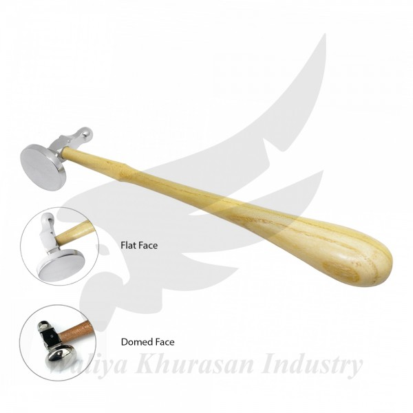 FLAT FACE GERMAN-STYLE CHASING HAMMER