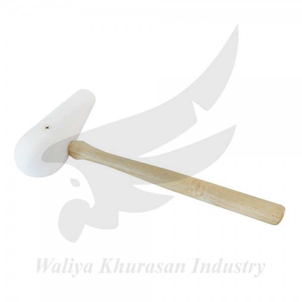 2 INCHES ROUND PEAR-SHAPED FACED NYLON HAMMER