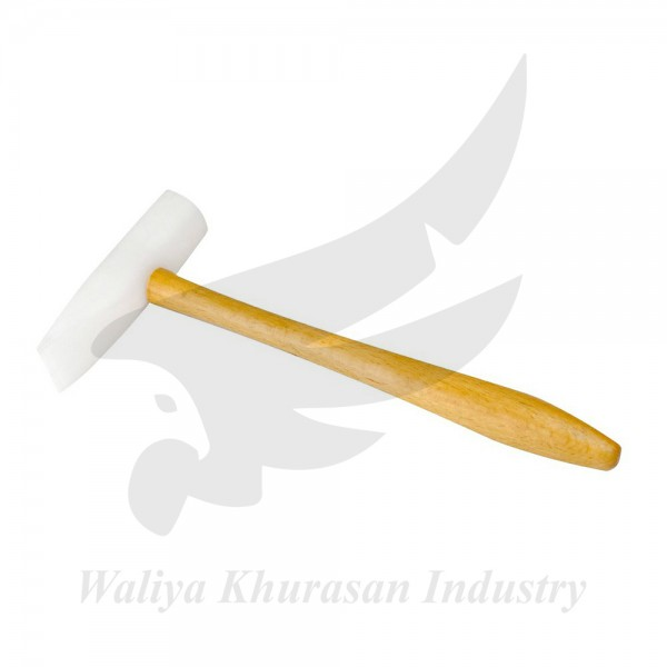 DEADBLOW MALLET 2 INCHES DOMED 1 INCH WEDGE HEAD NYLON HAMMER
