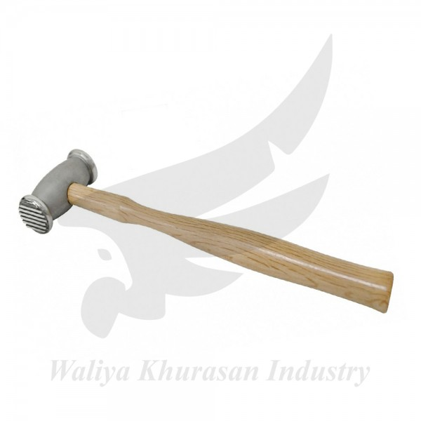 280 GRAM TEXTURING HAMMER WITH WOVEN AND WIDE STRIPED
