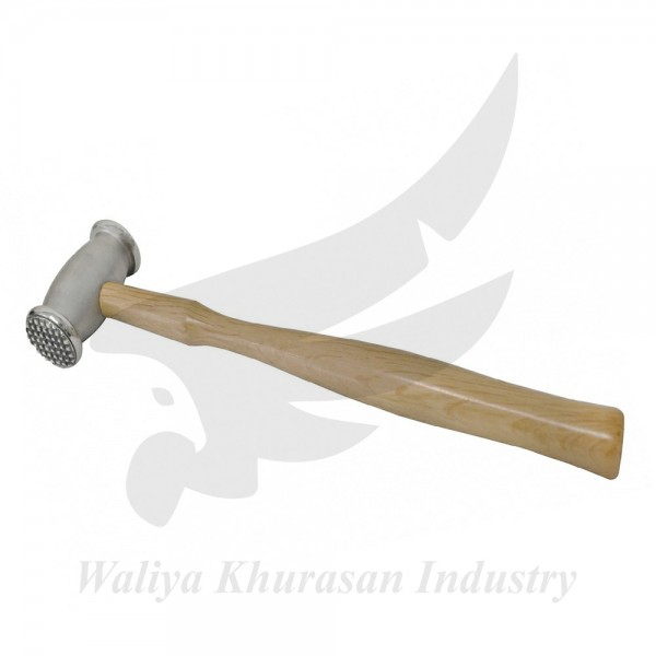 280 GRAM TEXTURING HAMMER WITH CROSSHATCH AND SMALL BULLS EYE