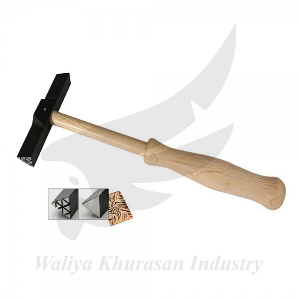 WUBBERS ARTISANS MARK TRIANGLE OUTER TEXTURE HAMMER