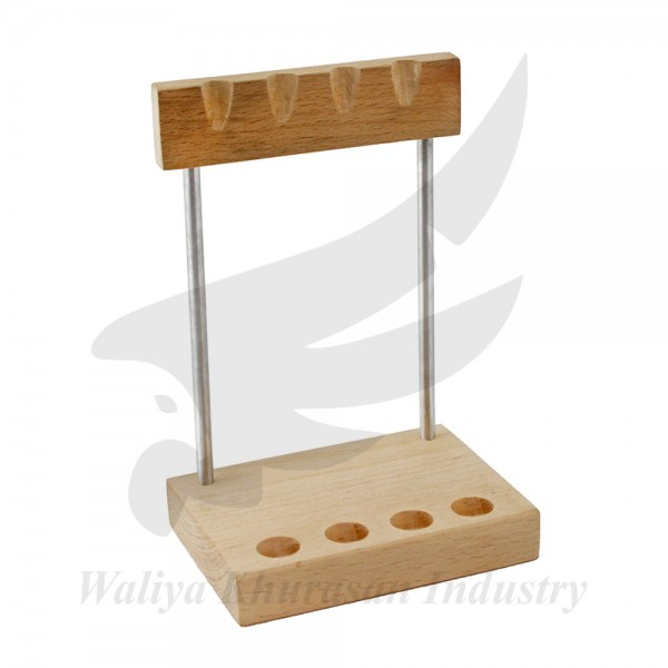 4 PIECE MINI SWISS STYLE HAMMER SET WITH HAMMER STAND