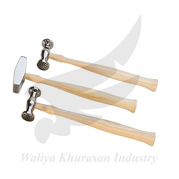 SET OF 3 TEXTURING PATTERN HAMMERS