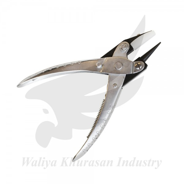 PARALLEL ACTION PLIERS ROUND AND FLAT NYLON JAW NOSE PLIER 140MM JEWELRY WIRE WORK