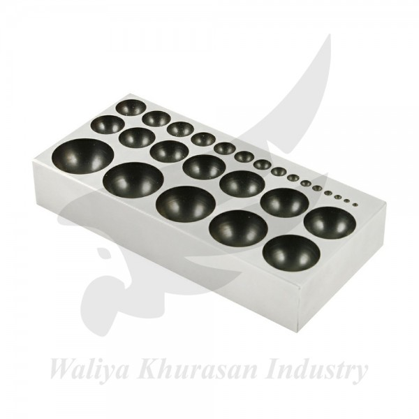 41 PCS DAPPING BLOCK AND PUNCH SET JEWELRY MAKING AND METAL SMITH